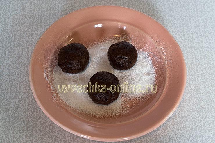 Tresnutoe shokoladnoe pechen'ye Shag 8