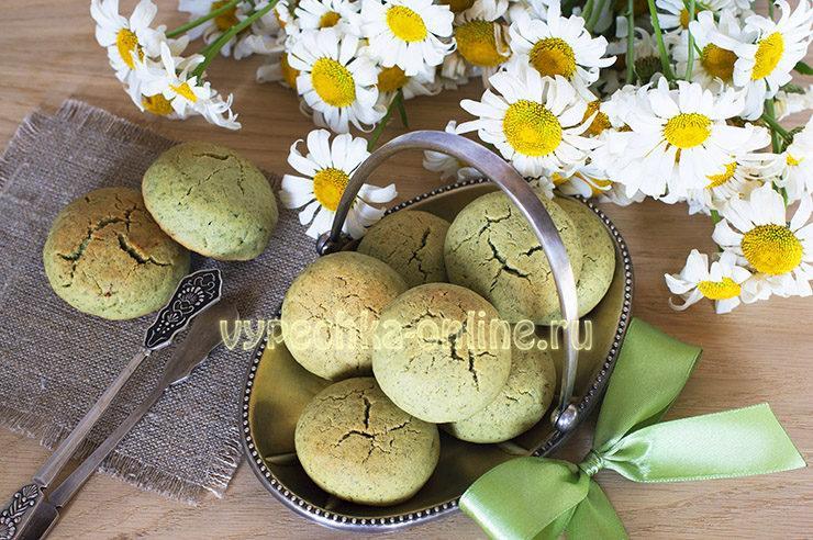 Мятное печенье рецепт с фото