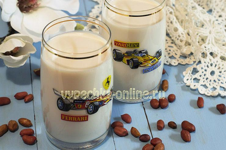 Молоко из арахиса