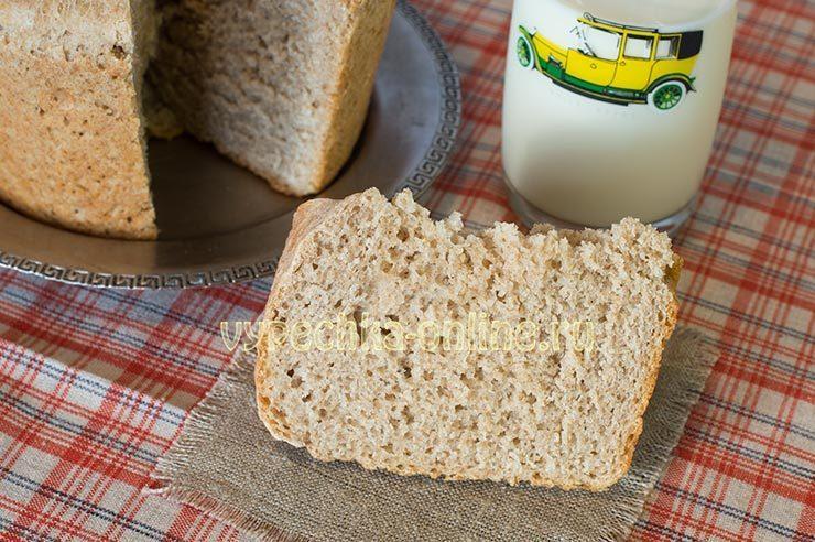 Хлеб из цельнозерновой полбяной муки