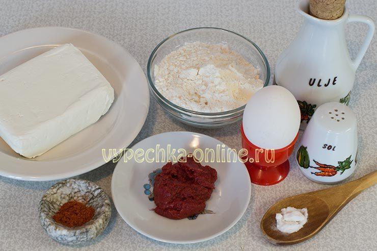 Pechen'ye Rukavichka Ingredienty