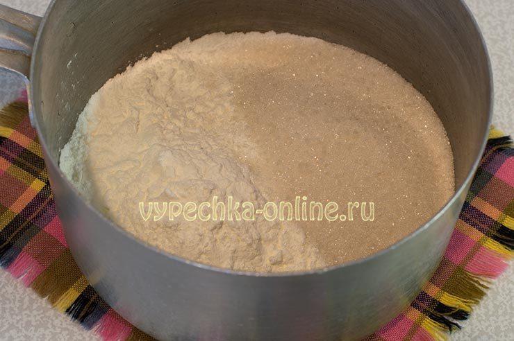 Постный крем для торта