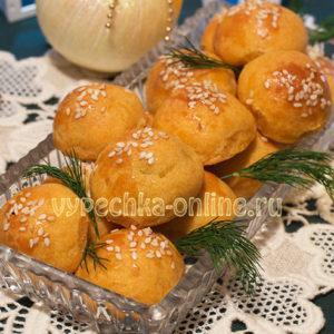 Сырные шарики в духовке