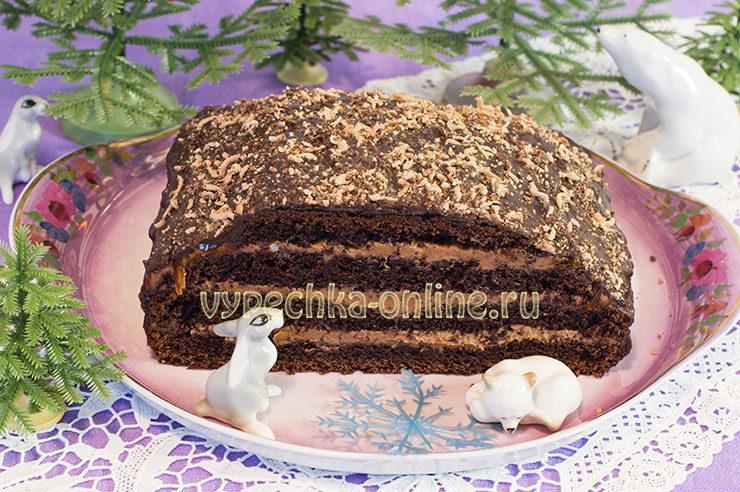 Торт Прага очень вкусный и нежный