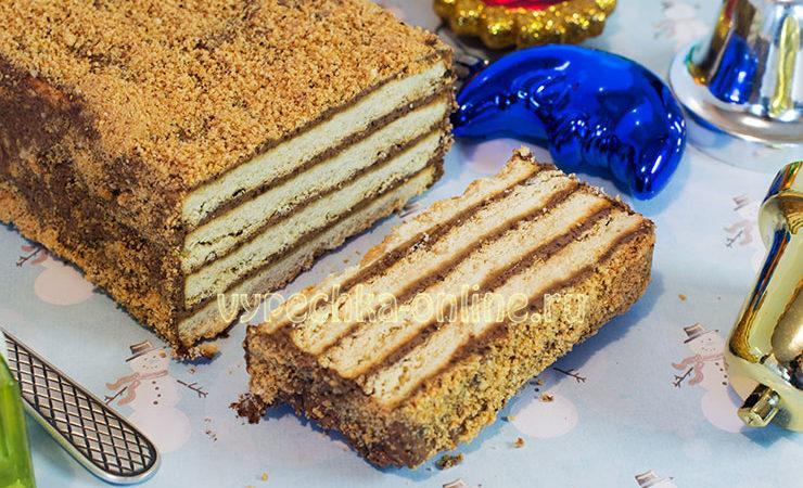 Десерт из печенья без выпечки Холодная собака