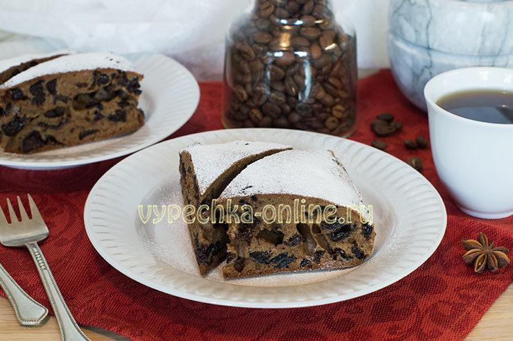 Постная медовая коврижка рецепт с фото