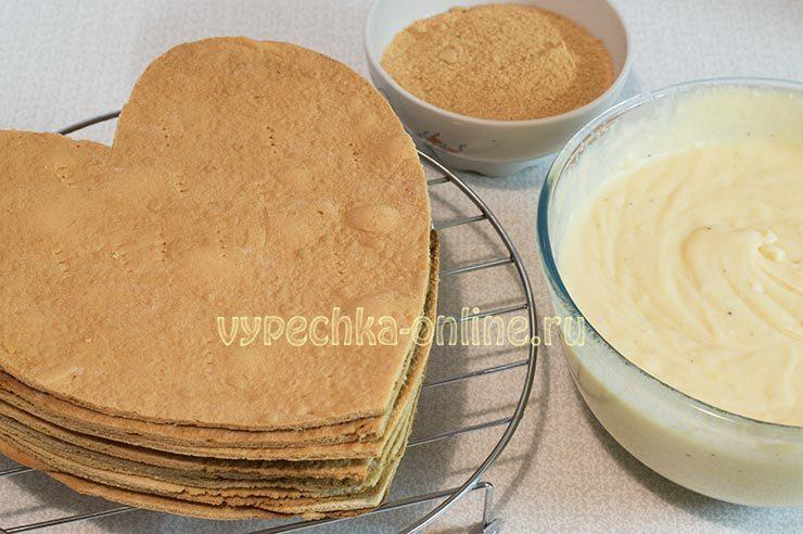 Медовый торт мягкие коржи рецепт