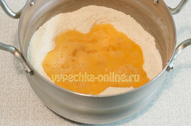 Вкусный заварной крем для медовика