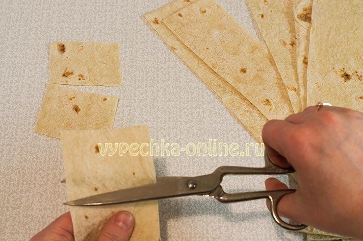 Домашние чипсы из лаваша