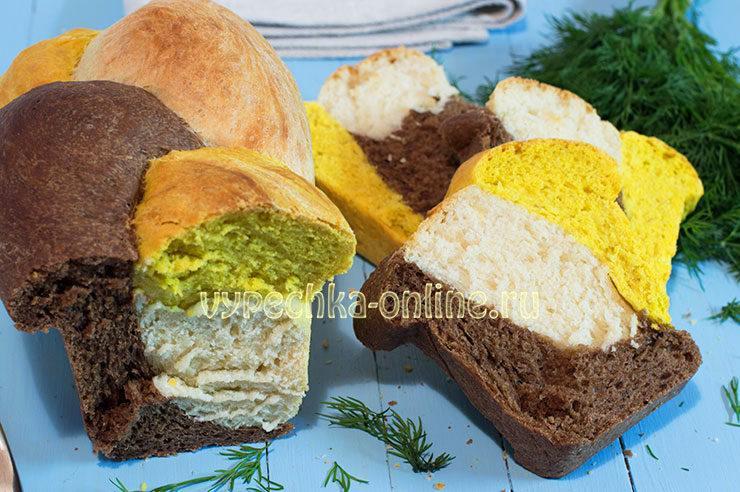 Постный хлеб в духовке рецепт с фото пошагово