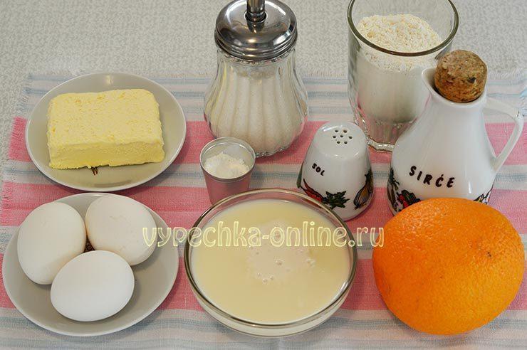 апельсиновый пирог в духовке