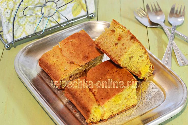 апельсиновый пирог рецепт с фото пошагово в духовке