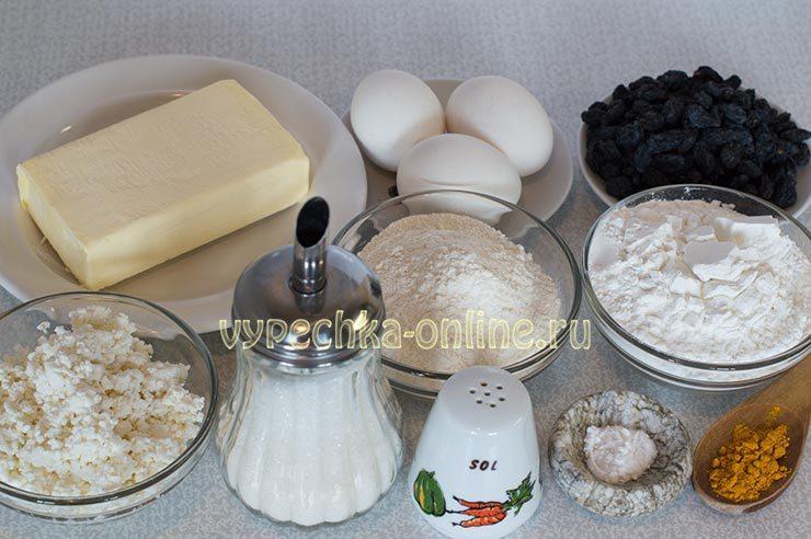 Бездрожжевой кулич пасхальный рецепт Ингредиенты
