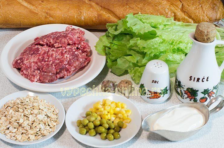 рецепты из фарша мясного на скорую руку