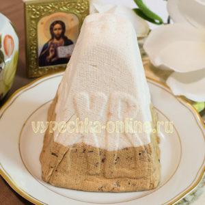 как приготовить пасху из творога пошаговый рецепт с черносливом и корицей