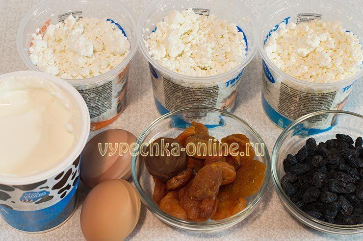 Как приготовить пасху из творога Ингредиенты