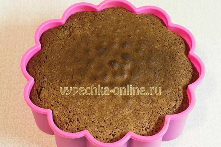 вкусный бисквитный торт легкий в приготовлении
