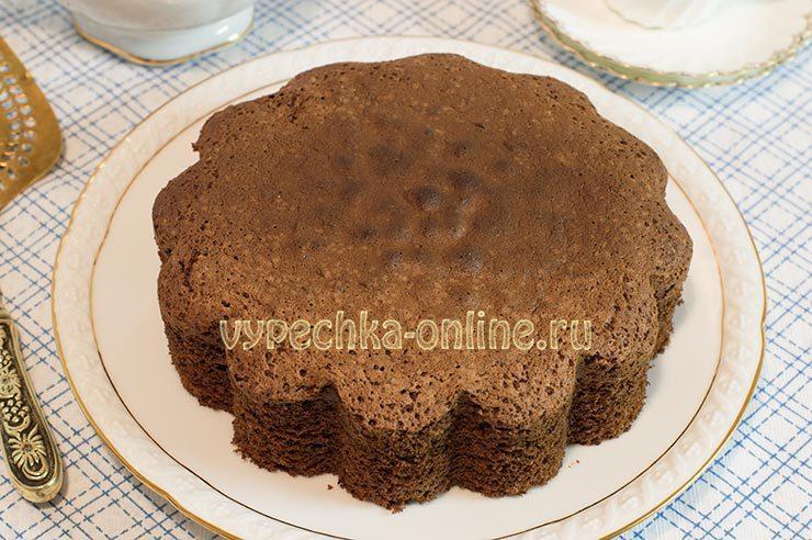 вкусный бисквит для торта рецепт с фото