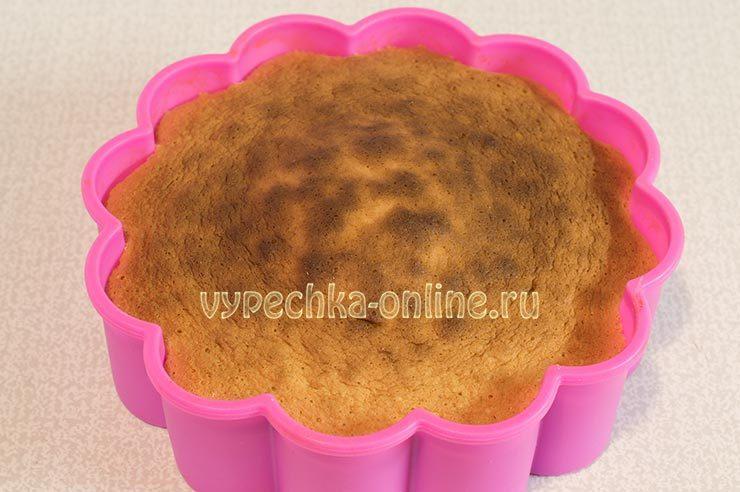 простой рецепт бисквита в духовке в домашних условиях