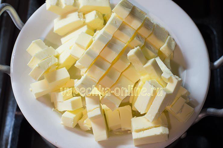 заварной крем без яиц на молоке с маслом