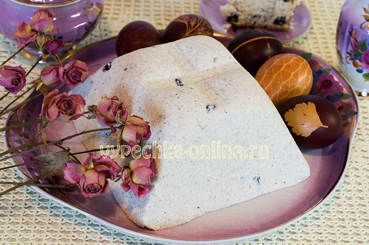 творожная пасха рецепт с фото пошагово царская заварная