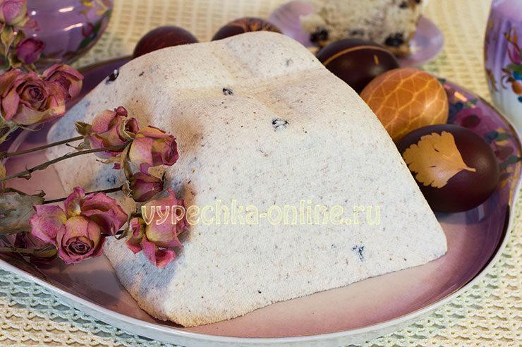 творожная пасха царская заварная рецепт с фото