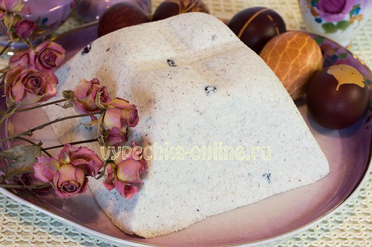 пасха творожная заварная царская рецепт с фото пошагово
