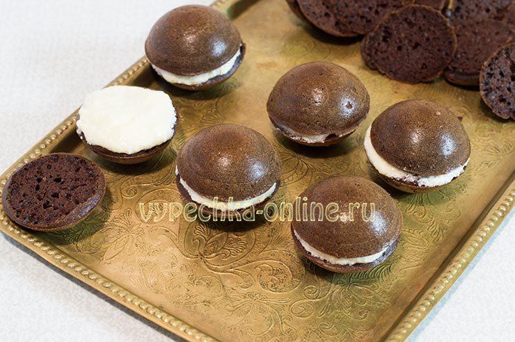 Shokoladnye keksy v silikonovykh formochkakh Shag 11