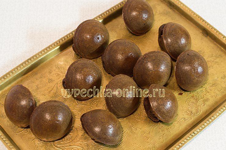 Shokoladnye keksy v silikonovykh formochkakh Shag 9