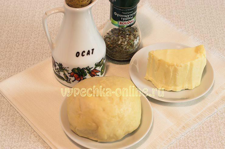 выпечка с мягким сыром