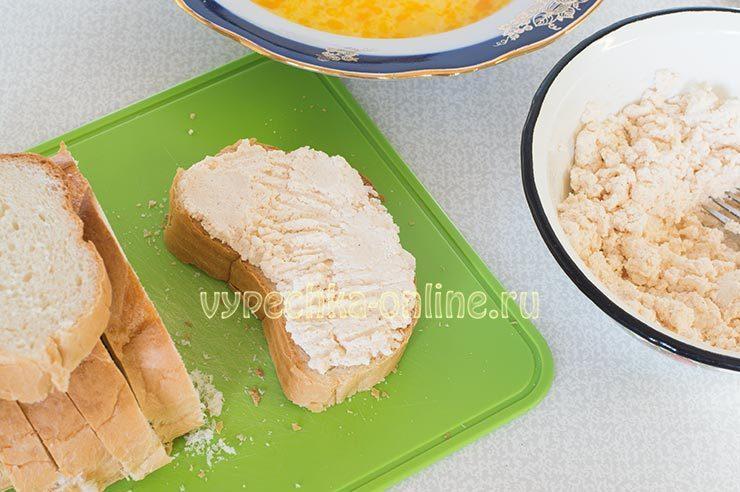 гренки с чесноком из батона на сковороде