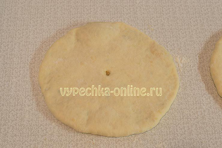 закрытое хачапури с сыром