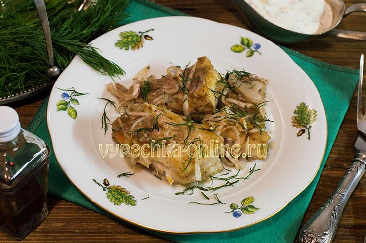 морской окунь в духовке рецепты с фото