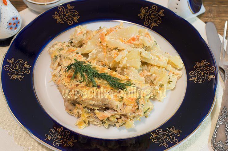 красный морской окунь рецепт в духовке
