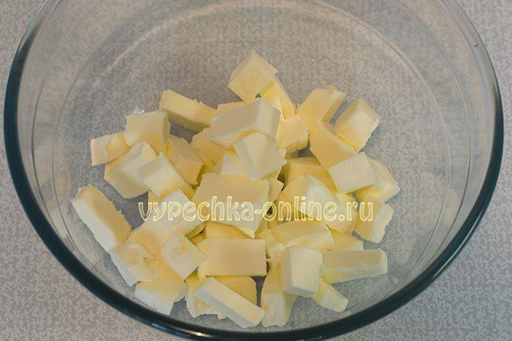 печенье песочное рассыпчатое нежное домашнее рецепт на масле сливочном