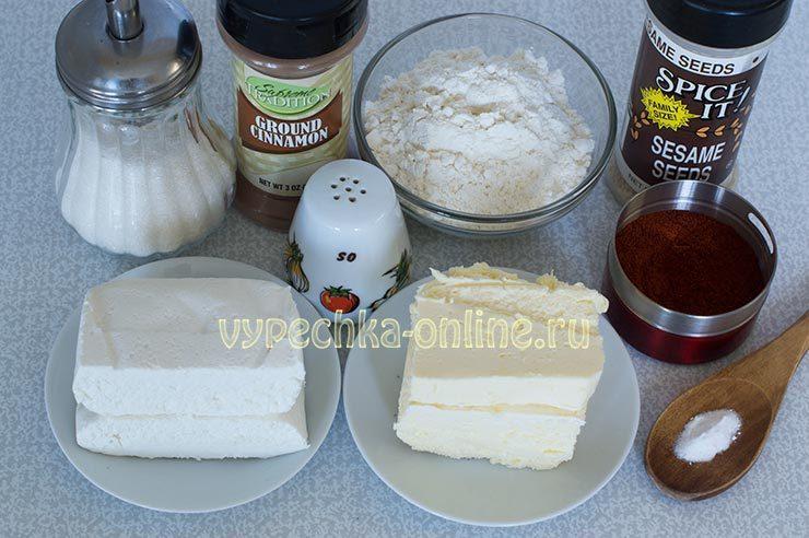 печенье из творога и масла