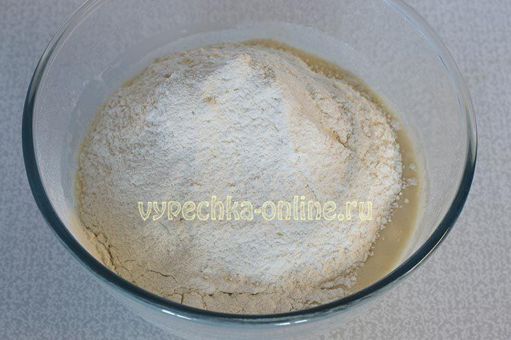 хачапури аджарские с яйцом