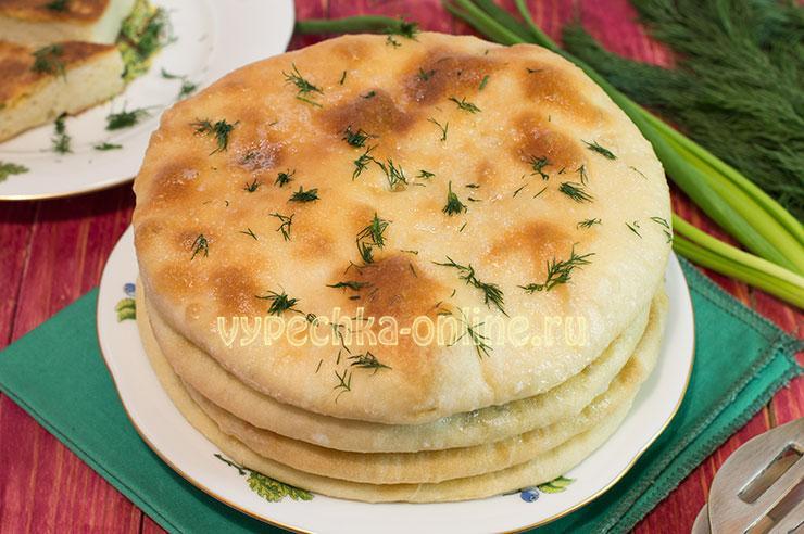 рецепт хачапури с творогом и сыром