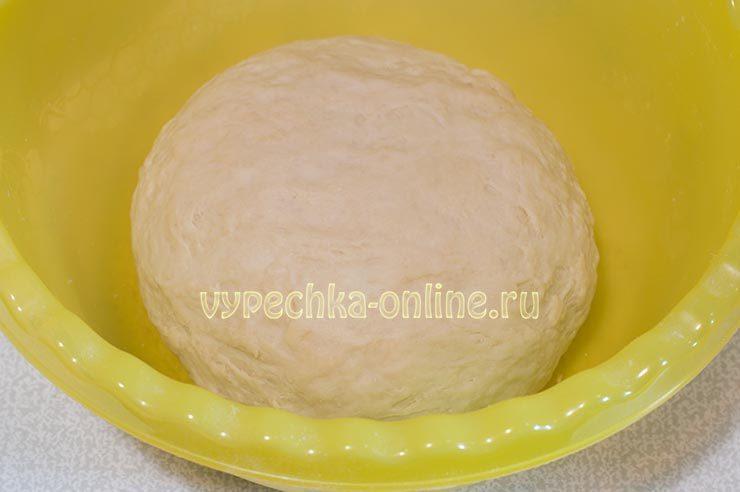 мясной рулет в тесте в духовке рецепт с фото