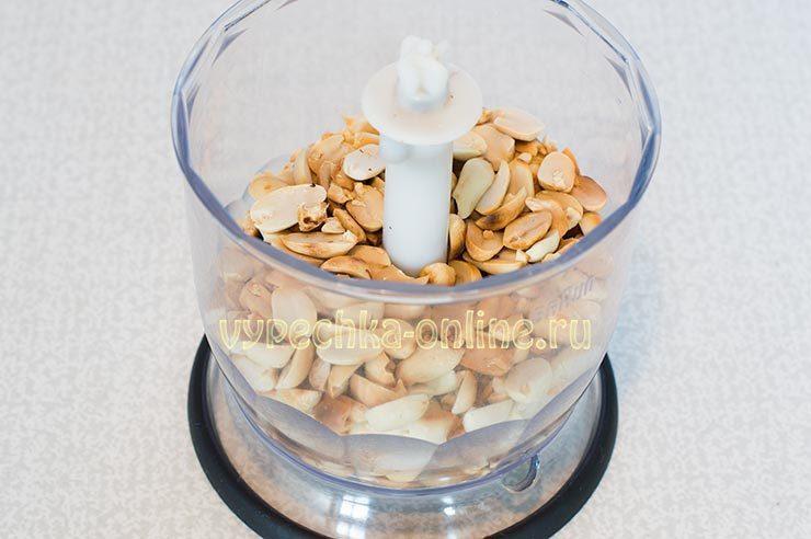 ореховая паста из арахиса