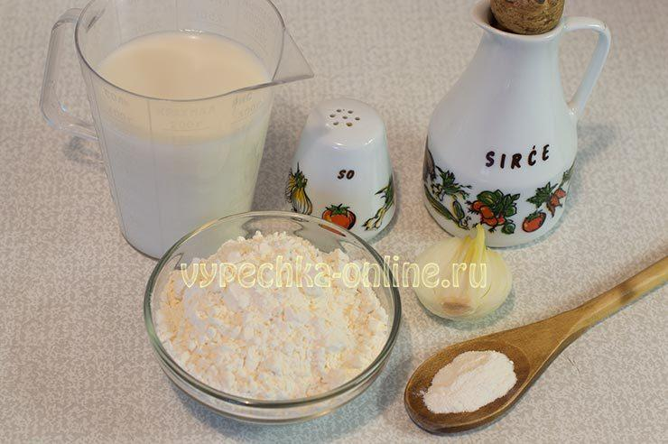 блины на кунжутном молоке