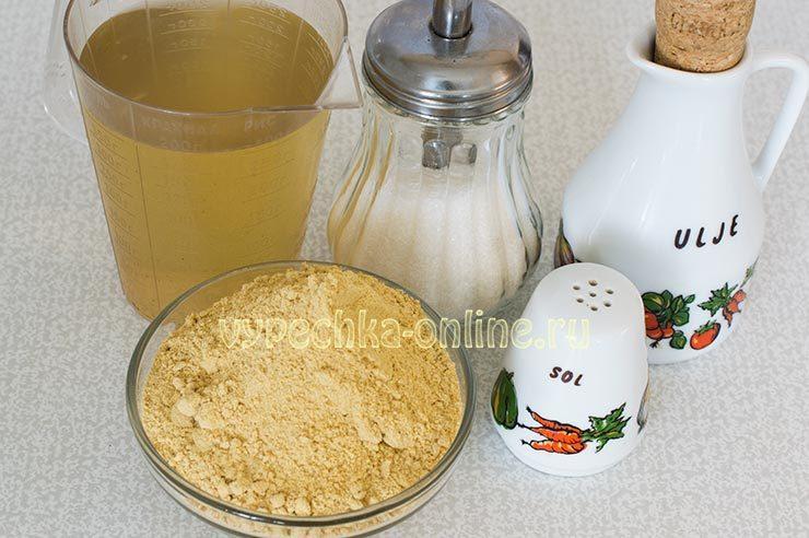 горчица на рассоле рецепт приготовления из порошка в домашних условиях