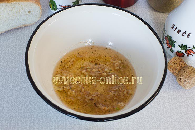 домашние гренки с чесноком