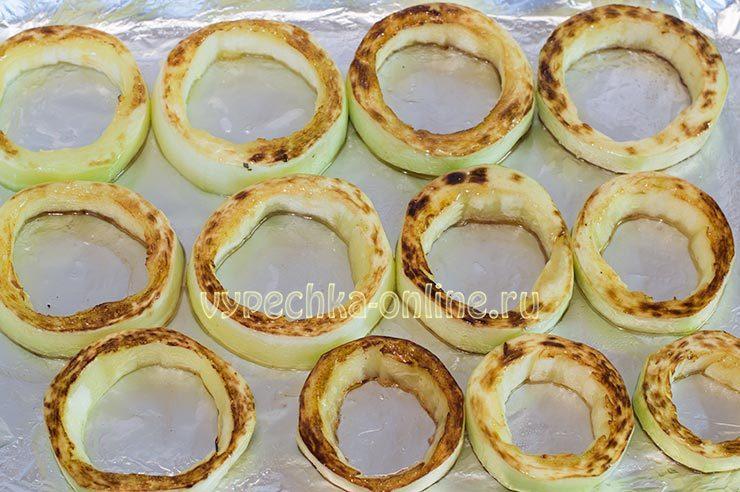 фаршированные кабачки в духовке рецепт с фото