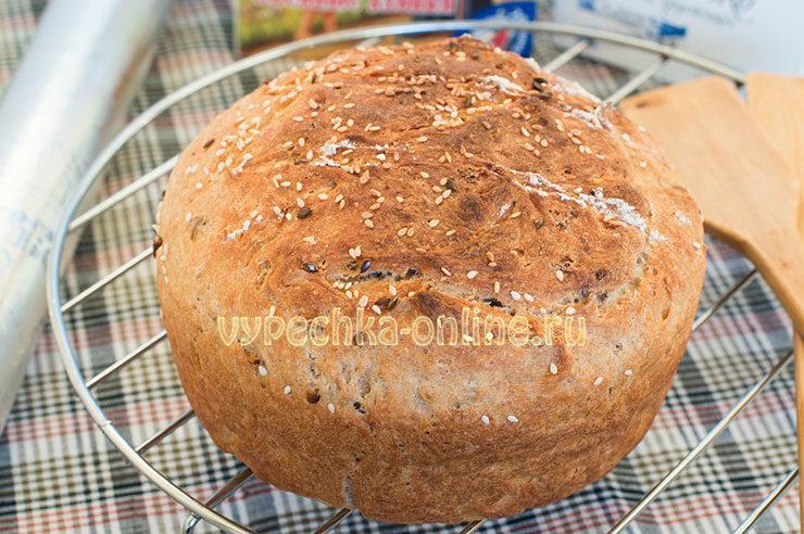 овсяный хлеб в духовке