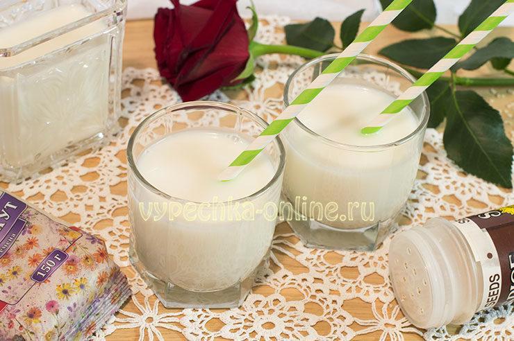 Растительное молоко в домашних условиях