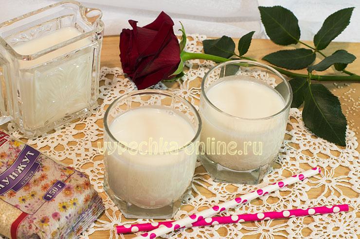 Как сделать кунжутное молоко в домашних условиях