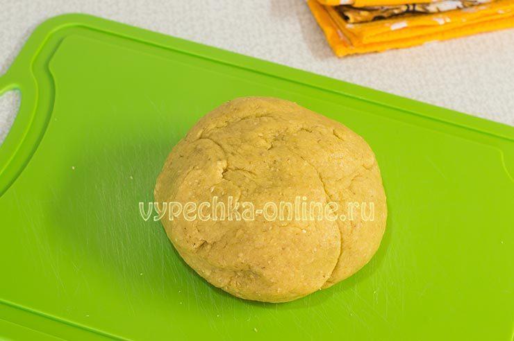 печенье из овсяных хлопьев рецепт