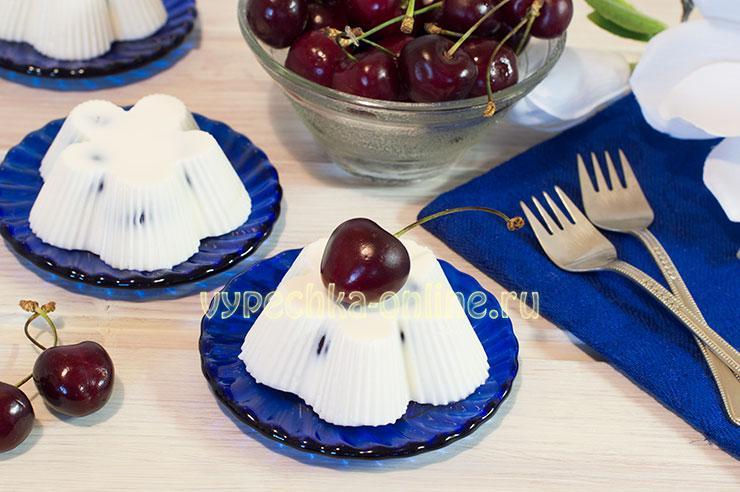 десерт с черешней рецепт с фото