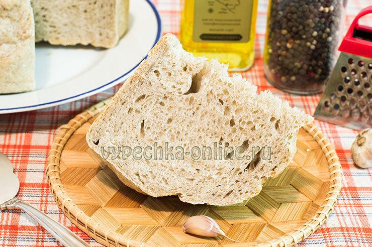 Домашний хлеб на сухих дрожжах в духовке рецепт